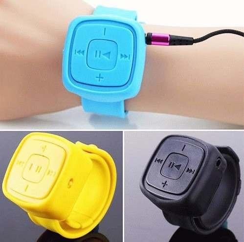 mp3 tipo reloj de pulsera para tarjeta sd musica correr mf