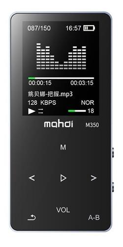 mp4 player mahdi portátil hifi audio player micro sd mp4 bt
