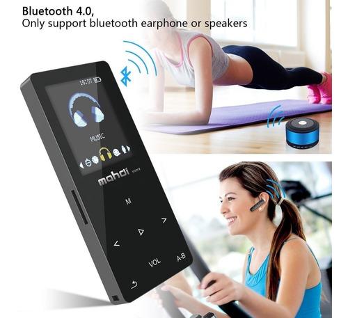 mp4 player portátil audio player mp4