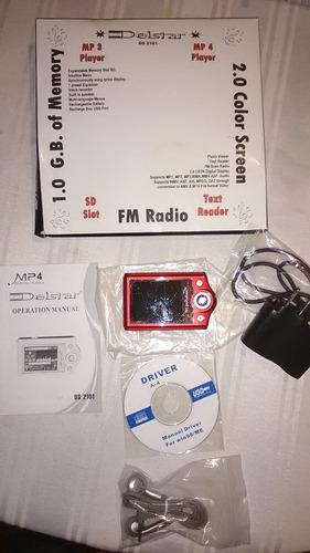 mp4 , radio y grabador de voz