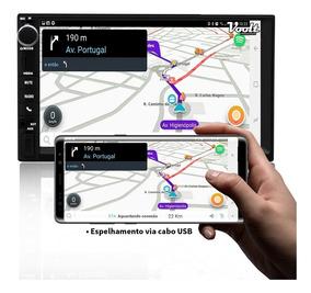 Mp5 Player Automotivo Sd Usb Bt - Espelhamento Android