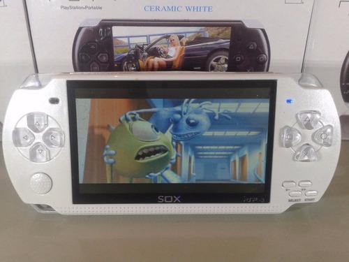 mp5 pssp 5  4gb consola 500 juegos musica pelis tvout etc