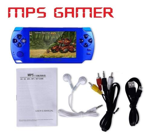mp5 tipo psp genérico con juegos ps1 4gb pantalla grande 4.3