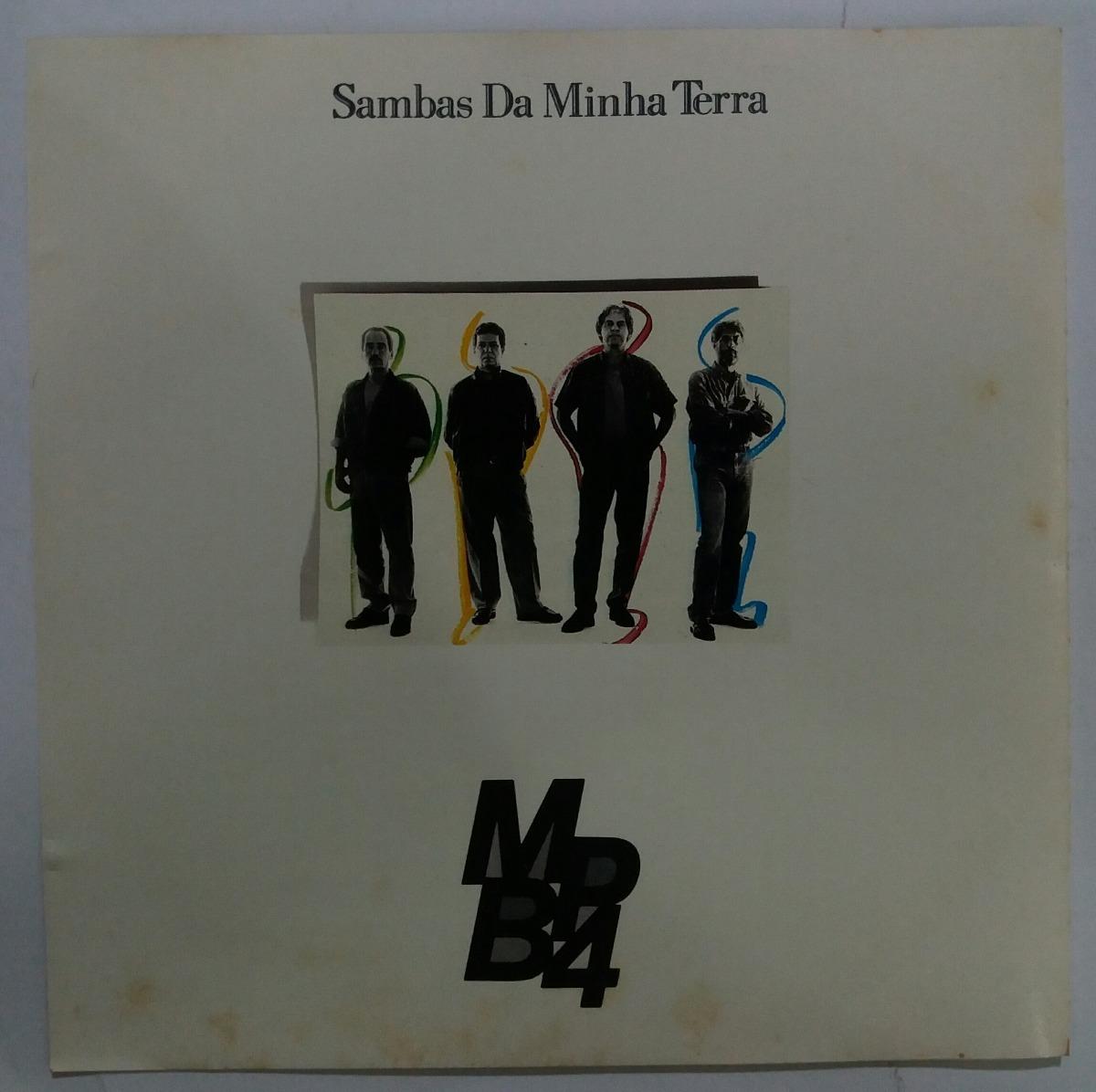 924ece2ad Mpb4 - Sambas Da Minha Terra - Cd Original 1ª Edição Omd95 - R  561 ...