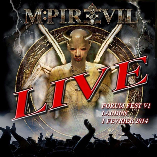 mpire of evil live forum fest vi cd nuevo