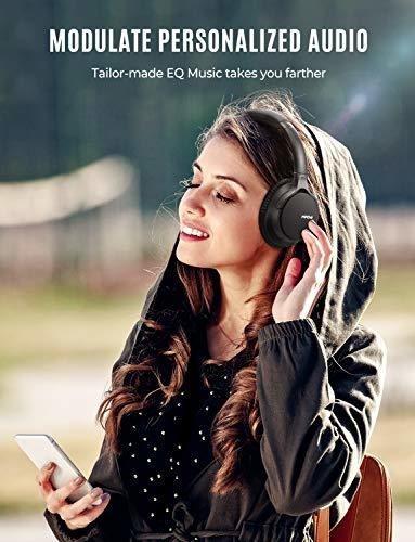 mpow auriculares bluetooth over ear, modos de ecualizador pe