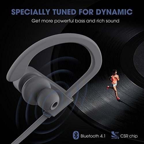 mpow flame [actualizado] auriculares bluetooth, tecnología b