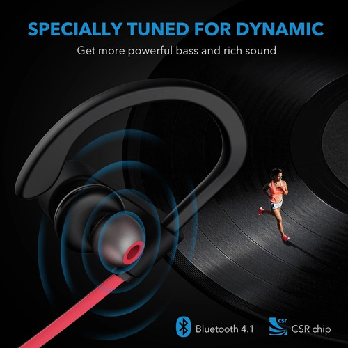 mpow flame ipx7 deportivos bluetooth audífonos inalambricos