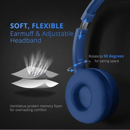 mpow headset 071 usb / 3.5mm auriculares ordenador con micró