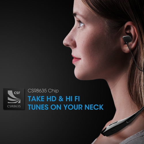 mpow jaws gen 2 auriculares bluetooth llamada vibrate alert