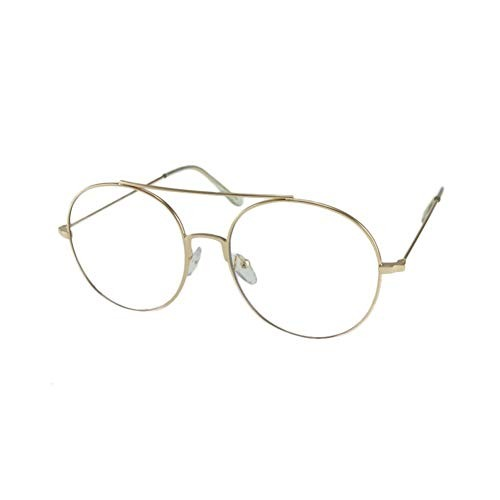 5ff375d347 Mq Gafas De Sol Azumi Gafas Redondas De Lentes Transparentes ...
