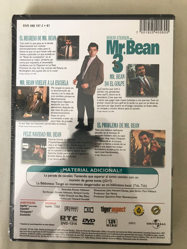 mr. bean dvd