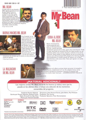 mr bean primer volumen 1 uno 4 episodios dvd