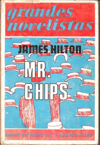 mr. chips james hilton editorial emecé