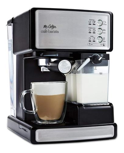 mr coffee cafetera expresso late capuccino ecmp1102 barista