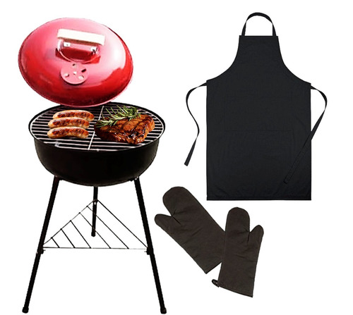 mr. grill - handy grill + mandil + guantes