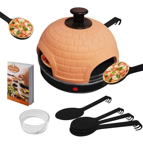 mr. grill - pizzarette classic+ pañito pztc0001