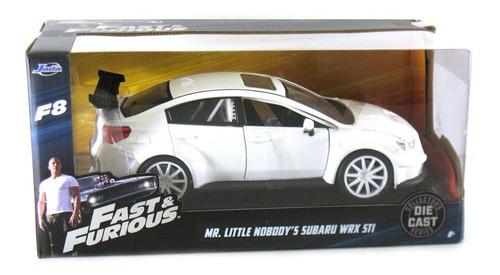 mr. little subaru wrx sti - fast & furious 8 jada toys 1:24