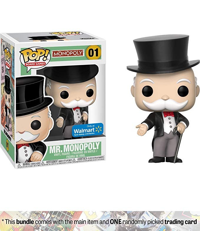 Mr Monopoly Walmart Exclusivo Funko Pop Juegos De Mesa