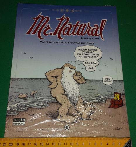 mr. natural - robert crumb - livro novo