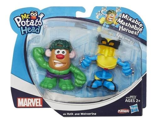 mr potato head transformers hulk y wolverine ref. a8073