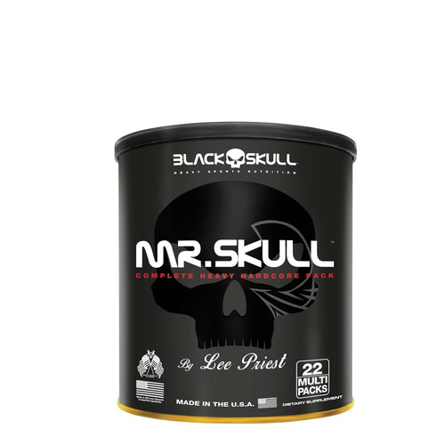 mr skull - 22 packs - black skull - animal