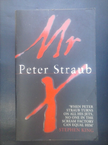 mr x - peter straub (en inglés)
