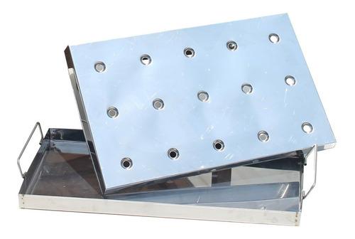 mr.grill-caja china mediana premium jr. black mixta + acceso