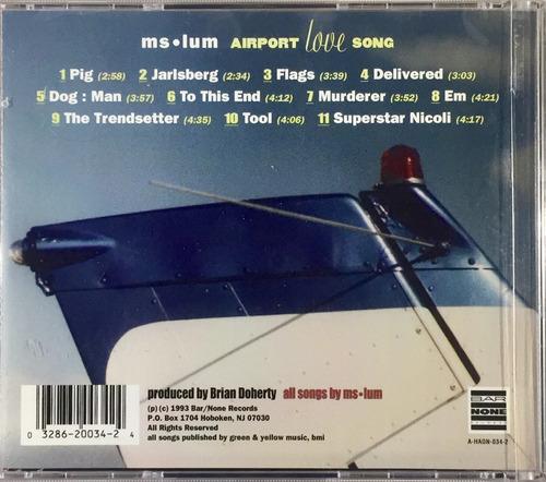 ms. lum - airport love song - cd importado usa novo lacrado