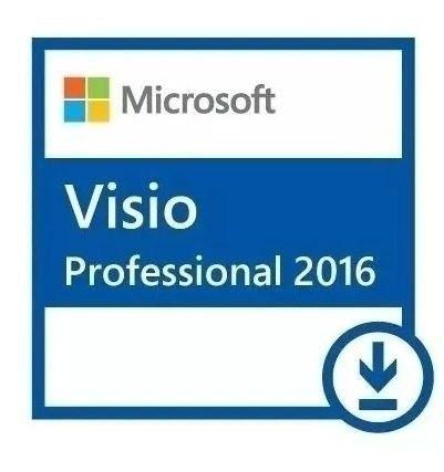 ms visio pro 2016 32/64 vitalicio envio digital!