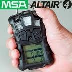 msa altair 4x super detector multi gases h2s o2 lel co minas