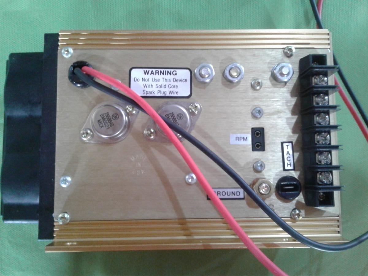 Msd 7a-l Modulo De Ignição C/ Limitador De Rpm 6 Cil
