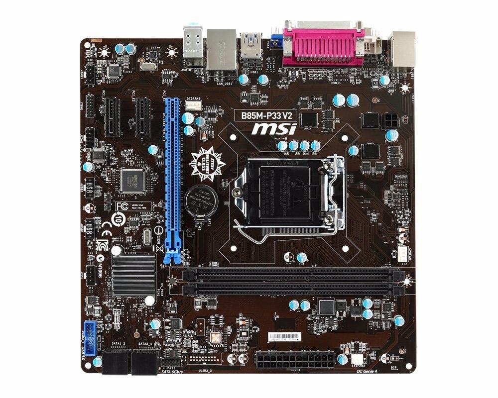 MSI B85M-P33 V2 Windows 8 X64 Treiber