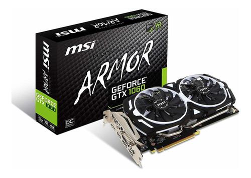 msi gaming geforce gtx 1060 6gb gdrr5 hdd de 192 bits apoyo