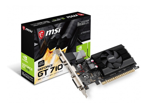 msi ge force gt 710 2gb ddr3 - pronet uruguay