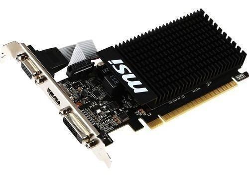 msi geforce gt 710 low profile tarjeta grafica 1gb
