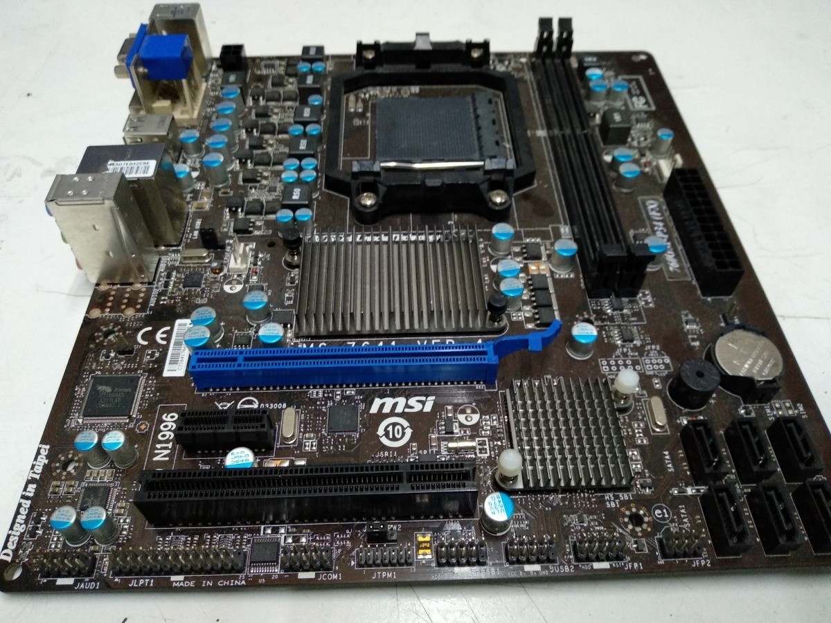 Msi Ms-7641 760gm-p34 (fx) Am3/am3+ Motherboard - $ 1 700,00