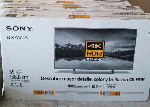 msi pantalla sony x72e 55 smart tv led 4k hdr ultra hd