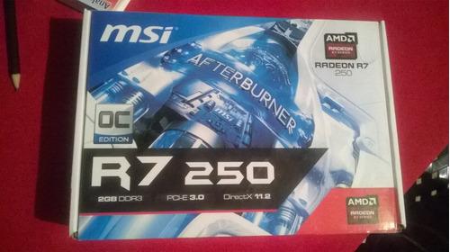 msi r7 250 oc 2gb gddr3