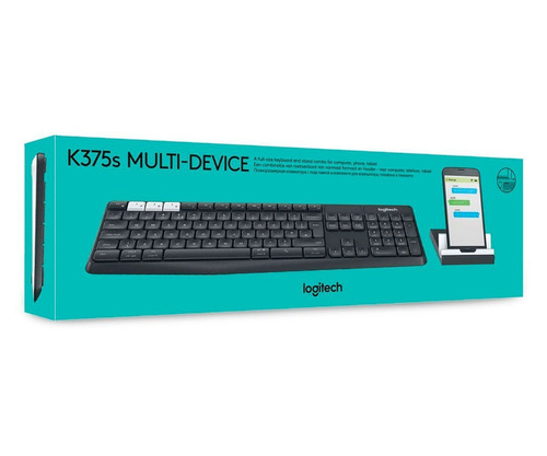 msi teclado logitech k375s inalambrico multi-dispositivo usb