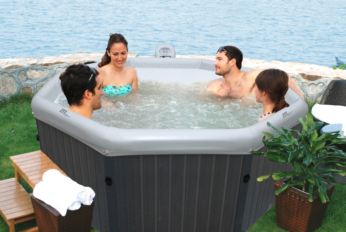 Mspa jacuzzi armable de exterior 4 personas tuscany for Medidas jacuzzi 4 personas