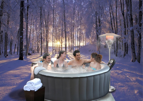 mspa jacuzzi tina spa inflable 4 personas silver cloud