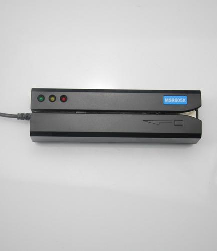 msr 605 x lector grabador tarjeta banda magnetica msr206 usb