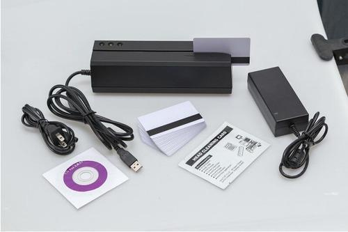 msr605x lector grabador codifica tarjetas magneticas deftun