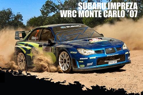mst xxx-r rtr 1/10scale 4wd rc alto rendimiento racing coche