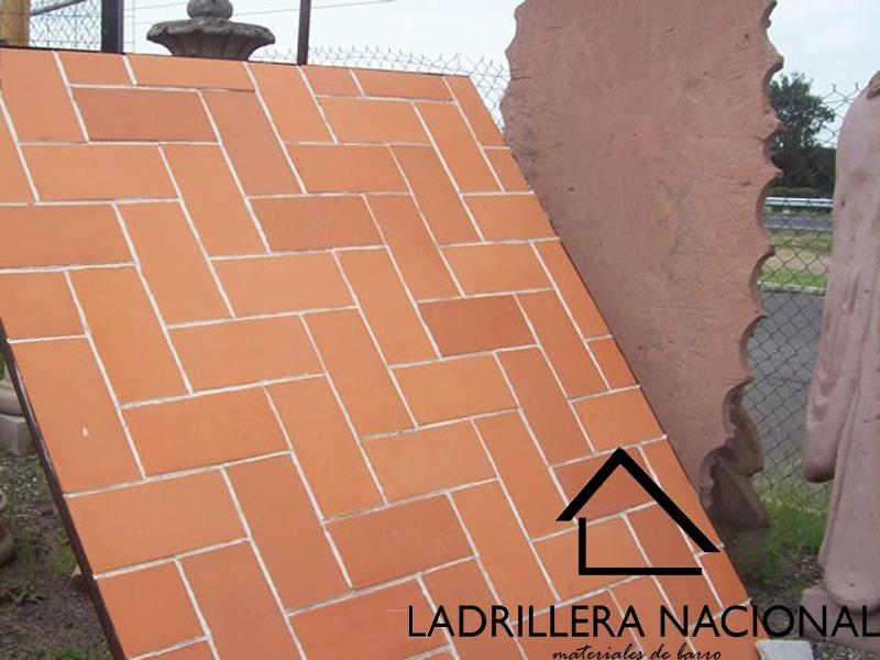 Mt2 ladrillo tabique rojo tipo sencillo delgado 23x12x1 5 - Patio piso de ladrillo ...