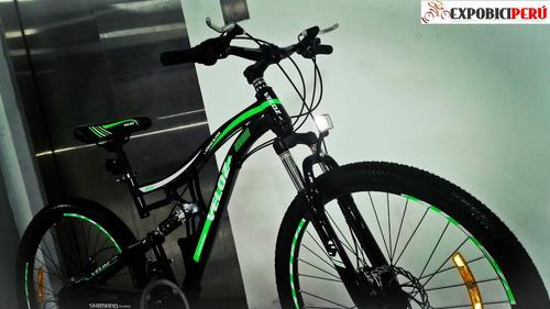 mtb - bicicleta doble amortiguador aro 26 nuevas