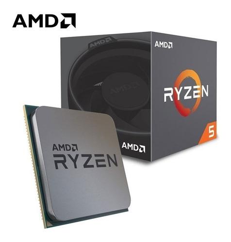 mtec amd ryzen 5 2600 6 nucleos 12 hilos 3.4ghz procesador