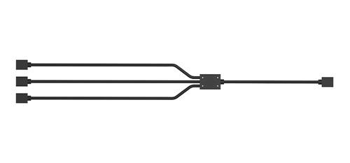 mtec cooler master cable splitter hub rgb 3 a 1 ventiladores