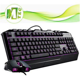 Mtec Cooler Master Desvastator 3 Combo Teclado + Mouse Rgb